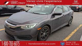 Used 2017 Honda Civic LX 4 portes CVT for sale in Sorel-Tracy, QC