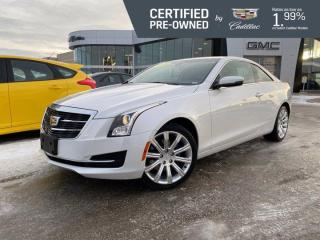 Used 2018 Cadillac ATS Coupe AWD | Heated Seats | Bose Audio | Cadillac CUE for sale in Winnipeg, MB