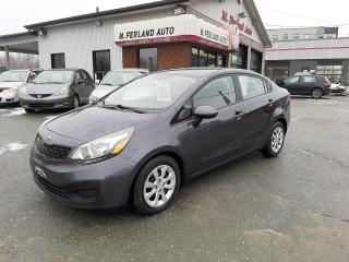 Used 2015 Kia Rio Berline 4 portes, boîte manuelle, LX+ for sale in Sherbrooke, QC