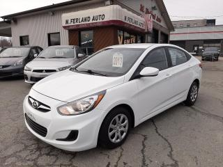 Used 2013 Hyundai Accent Berline 4 portes, automatique, GL for sale in Sherbrooke, QC