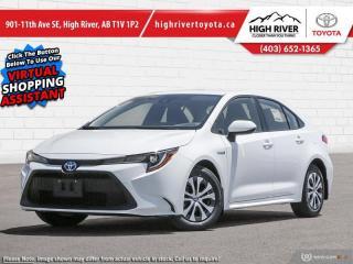 New 2021 Toyota Corolla Hybrid CVT w/Li Battery for sale in High River, AB