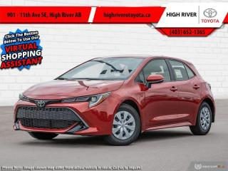 New 2021 Toyota Corolla Hatchback for sale in High River, AB