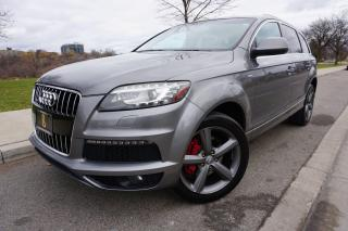 Used 2010 Audi Q7 S-LINE / TDI / NO ACCIDENTS / STUNNING CONDITION for sale in Etobicoke, ON