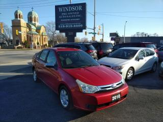 Used 2010 Ford Focus SE for sale in Windsor, ON