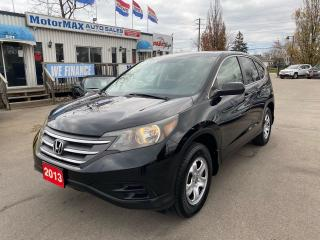 Used 2013 Honda CR-V LX-ONE OWNER-ACCIDENT FREE for sale in Stoney Creek, ON