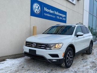 Used 2018 Volkswagen Tiguan COMFORTLINE 4MOTION AWD - LEATHER / SUNROOF / CERTIFIED for sale in Edmonton, AB