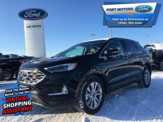 New 2019 Ford Edge Titanium AWD  - Cooled Seats -  Heated Seats - $385 B/W for sale in Fort St John, BC