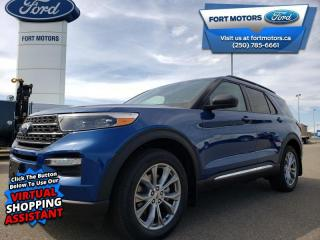 New 2020 Ford Explorer XLT  - Navigation - Activex Seats - $326 B/W for sale in Fort St John, BC