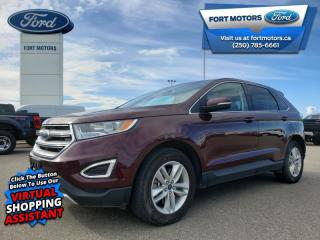 Used 2018 Ford Edge SEL  - Bluetooth -  Heated Seats - $184 B/W for sale in Fort St John, BC