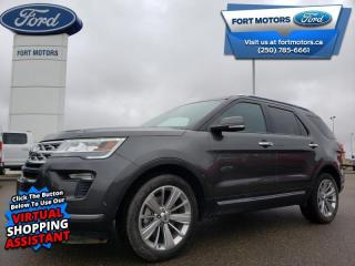 Used 2019 Ford Explorer Limited  - Sunroof - $358 B/W for sale in Fort St John, BC