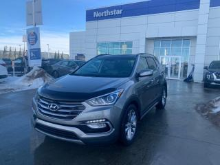 Used 2017 Hyundai Santa Fe Sport LTD LEATHER/PANOROOF/NAV/COOLEDSEATS/HEATEDSTEERING for sale in Edmonton, AB
