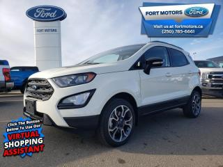 New 2020 Ford EcoSport SES for sale in Fort St John, BC