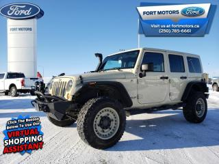 Used 2011 Jeep Wrangler Unlimited SAHARA  - $450 B/W for sale in Fort St John, BC