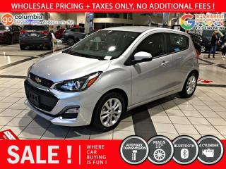Used 2019 Chevrolet Spark LT - Local / No Dealer Fees for sale in Richmond, BC