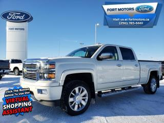 Used 2015 Chevrolet Silverado 1500 HIGH COUNTRY  - Leather Seats - $363 B/W for sale in Fort St John, BC
