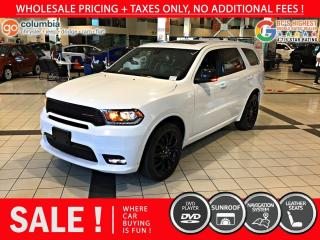 Used 2020 Dodge Durango GT Plus - No Accident / Nav / Sunroof / DvD for sale in Richmond, BC