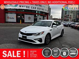 Used 2019 Kia Optima EX - Local / No Accident / One Owner / No Dealer Fees for sale in Richmond, BC