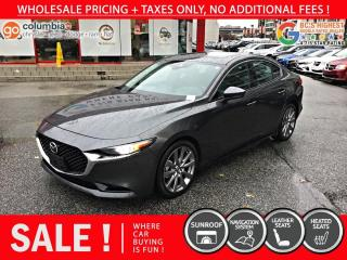Used 2019 Mazda MAZDA3 GT - Local / No Accident / Nav / Leather for sale in Richmond, BC
