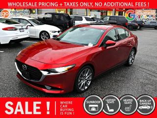 Used 2019 Mazda MAZDA3 GT - No Accident / Local / Leather / Sunroof for sale in Richmond, BC