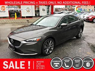 Used 2020 Mazda MAZDA6 GS-L - No Accident / Local / One Owner / No Dealer Fees for sale in Richmond, BC