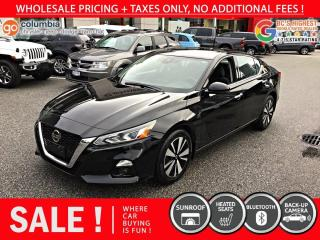 Used 2020 Nissan Altima 2.5 SV - Sunroof / No Dealer Fees for sale in Richmond, BC