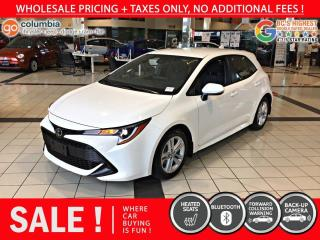 Used 2019 Toyota Corolla Hatchback SE 4dr FWD Hatchback for sale in Richmond, BC