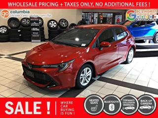 Used 2019 Toyota Corolla Hatchback SE for sale in Richmond, BC