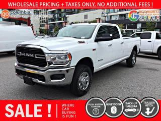 Used 2020 RAM 3500 Big Horn HEMI - Local / No Accident / No Dealer Fees for sale in Richmond, BC