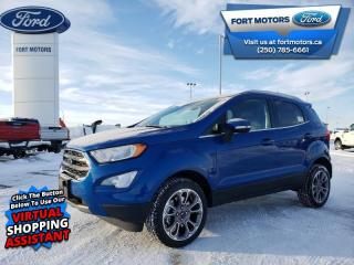 New 2020 Ford EcoSport 4WD TITANIUM for sale in Fort St John, BC