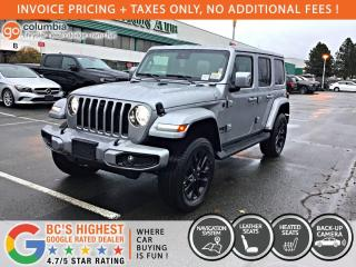 New 2021 Jeep Wrangler High Altitude for sale in Richmond, BC