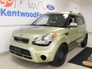 Used 2012 Kia Soul Fuel Efficient | ROOMY | 4U | Sunroof | Heated sport cloth buckets for sale in Edmonton, AB
