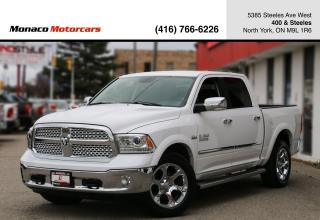 Used 2017 RAM 1500 4WD LARAMIE CREW CAB - LEATHER|BACKUP|REMOTESTART for sale in North York, ON
