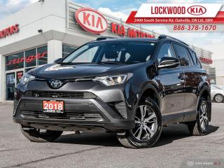 Used 2018 Toyota RAV4 FWD LE - ONE OWNER CLEAN CARFAX! for sale in Oakville, ON