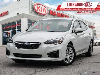 Used 2017 Subaru Impreza 4dr Sdn CVT Convenience - LOW KMS! ONE OWNER! for sale in Oakville, ON