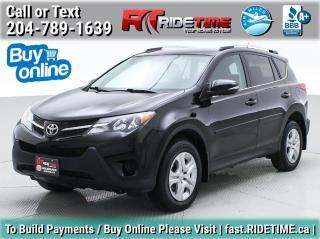 Used 2014 Toyota RAV4 LE for sale in Winnipeg, MB