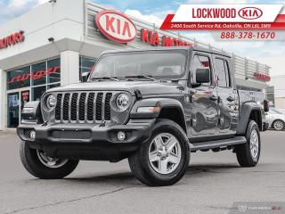 Used 2020 Jeep Gladiator Sport S 4x4 | BACK UP CAM | BLUETOOTH | LIKE NEW | for sale in Oakville, ON