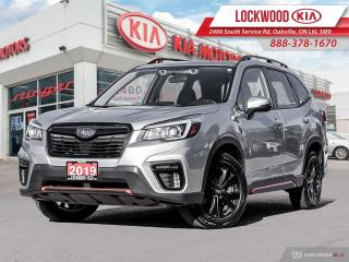 Used 2019 Subaru Forester 2.5i Sport w-EyeSight Pkg - CLEAN CARFAX! for sale in Oakville, ON