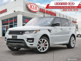 Used 2016 Land Rover Range Rover Sport 4WD 4dr V8 Supercharged - AUTOBIOGRAPHY! for sale in Oakville, ON