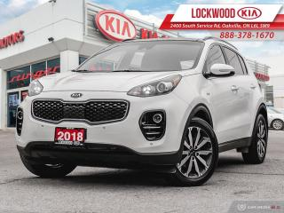 Used 2018 Kia Sportage EX Premium AWD - ONE OWNER! for sale in Oakville, ON
