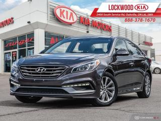 Used 2016 Hyundai Sonata 4dr Sdn 2.4L Auto Sport Tech - CLEAN CARFAX! for sale in Oakville, ON