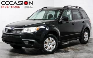 Used 2010 Subaru Forester 4 cylindres 4x4 Garantie 1 AN for sale in Boisbriand, QC
