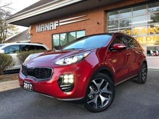 Used 2017 Kia Sportage AWD SX Turbo Navi Panoramic Sunroof R.Cam Cert* for sale in Concord, ON