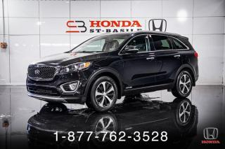 Used 2017 Kia Sorento EX + V6 + AWD + 7 PASSAGERS + WOW ! for sale in St-Basile-le-Grand, QC