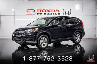 Used 2016 Honda CR-V LX + A/C + CRUISE + WOW ! for sale in St-Basile-le-Grand, QC