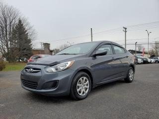 Used 2012 Hyundai Accent L *1 OWNER*USB*AUX* 32$/SEM for sale in St-Jérôme, QC