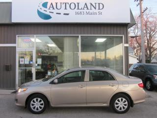 Used 2009 Toyota Corolla for sale in Winnipeg, MB