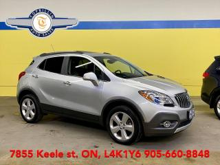 Used 2015 Buick Encore AWD, Leather, Roof, Blind Spot, B-Cam for sale in Vaughan, ON
