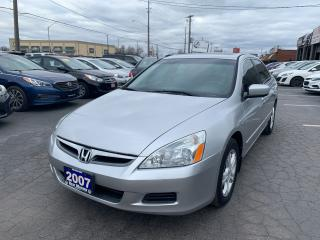 Used 2007 Honda Accord EX-L for sale in Hamilton, ON