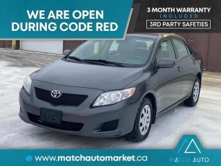 Used 2010 Toyota Corolla CE for sale in Winnipeg, MB