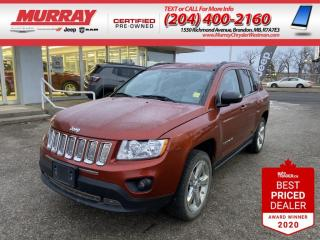 Used 2012 Jeep Compass *Leather Heated Seats* *Remote Start * *Bluetooth* for sale in Brandon, MB